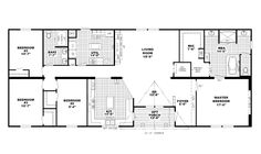 Modular Home Floor Plan. Southern Estates Homes. EO 209 The Mallard