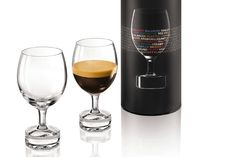 Reveal Tasting Glasses, by Nespresso and Riedel | Baxtton
