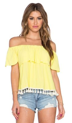 Revolve T-Bags LosAngeles Off The Shoulder Top