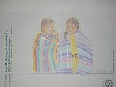 Prisma Color drawing, by Sharron Ahtone-Harjo