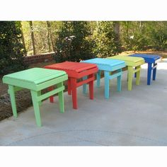 Have to have it. Weathercraft Designer's Choice Painted Side Table - $129.98 @hayneedle