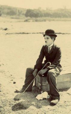 Charlie Chaplin - the little tramp :)