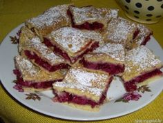 Meggyes linzer, másként Ale, French Toast, Deserts, Sweets, Baking, Breakfast, Food, Morning Coffee, Gummi Candy