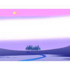 【kyojiroguitar】さんのInstagramの写真をピンしています。《#イラスト#自作 #風景 #林#空を#朝》
