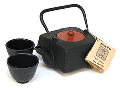 Square Shape Cast Iron Teapot from Pearl River, NYC Iced Tea Recipes, Pearl River, Tea Strainer, Tea Pot Set, Dark Photography, Tea Service, Tea Cakes, Spice Things Up, Cast Iron