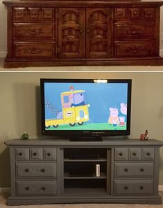 etsy entryway arayofsunlight console media navy table statement rustic farmhouse room deal center entertainment living shop triple tv great on ft blue dresser sold stand