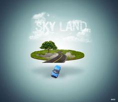 Sky Land on Behance