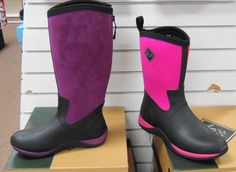 Muck makes boots for ladies too