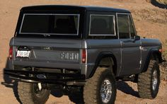 1969 Ford Bronco Rear View
