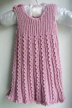 Free Pattern: Tiny Ribbon Baby Dress by Astrid Colding Sivertsen