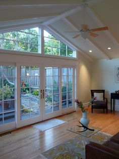 Perfect Yoga Studio Sun room.