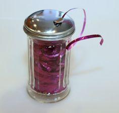 """""""Organizing Ribbon""""  (a few good ideas)  [www.ThriftyFun.com]"""