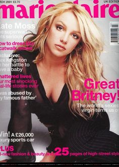 Britney - Marie Claire | March 2001