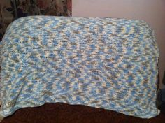 Baby blanket made  by me
