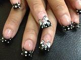 Polka dots  bows
