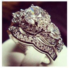 Extravagant engagement rings