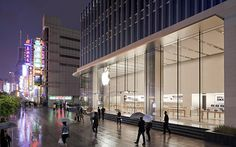 Apple Store, Shanghai, China. Nanjing, Architecture Visualization, Apple Products, Store Design, Apple Tv, How To Look Better, Around The Worlds, Beijing China, Steve Jobs