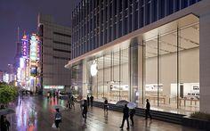 Apple Store, Shanghai, China.