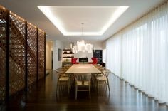Luxury Modern Dining Room Design to Inspire You Dining Room Walls, Dining Room Lighting, Dining Room Sets, Dining Room Design, Cove Lighting, Wall Lighting, Lighting Ideas, Style At Home, Living Room Furniture