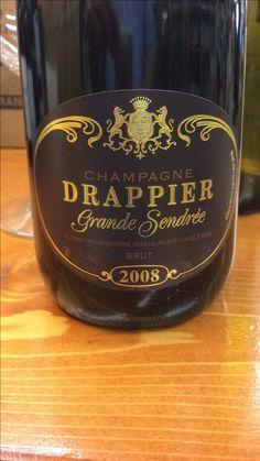 #Drappier Grande Sandrée 2008. Non stupefacente come mi aspettavo ma un gran #champagne