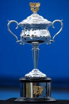 Australian Open Women's Singles Trophy Us Open, Tennis Tournaments, Tennis Players, Wimbledon, Tennis Trophy, Sports Trophies, Melbourne, Tennis Fashion, French Open