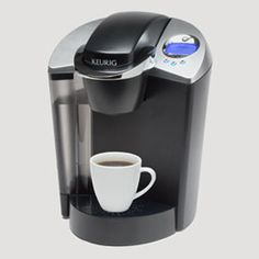 KEURIG! couldn't go a day without it!