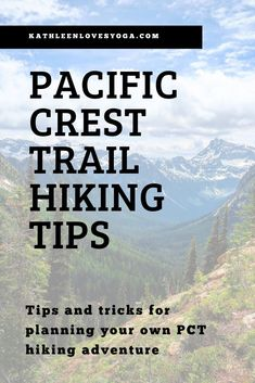 Tips and tricks for planning your own PCT hiking adventure. Camping Guide, Backpacking Tips, Hiking Tips, Hiking Gear, Camping Tools, Ultralight Backpacking, Pct Trail, Appalachian Trail, Hiking Supplies