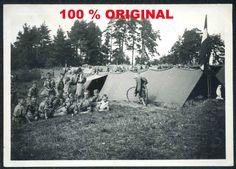 orig. WK2 FOTO - HJ Pimpfe - Jugend in Uniform - Zeltlager