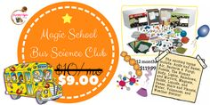 JustAddCoffee- The Homeschool Coupon Mom : Magic School Bus Science Club {As Low As $9 a mont...