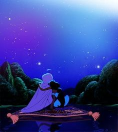 """Let me share this whole new world with you"" My FAVORITE Disney movie- named my baby girl Jasmyne!"