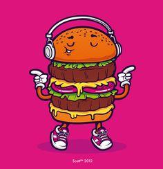 Burger+boogie+by+cronobreaker.deviantart.com+on+@DeviantArt