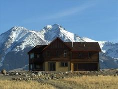 Paradise Valley Vacation Rental - VRBO 233509 - 4 BR Yellowstone Country House in MT, Family Reunions: Views! Yellowstone Park ~ Chico Hot S. Yellowstone Vacation, Yellowstone Park, Chico Hot Springs, Cabin Rentals, Rocky Mountains, Ideal Home, Future House, Family Reunions, Pool Table