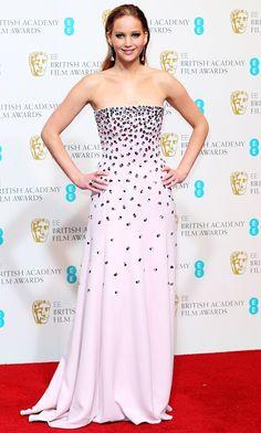 Jennifer Lawrence's Style Evolution: February 10, 2013