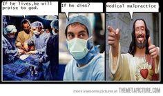 funny troll Jesus doctor