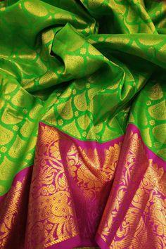 Pattu Sarees Wedding, Wedding Silk Saree, Bridal Sarees, Silk Saree Kanchipuram, Ethnic Sarees, Sari Blouse Designs, Soft Silk Sarees, Elegant Saree, Silk Sarees Online