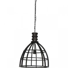 Hanglamp Yvy zwart: een zwarte hanglamp met industriële uitstraling. | eetkamer lamp, woonkamer lamp, eetkamer hanglamp, woonkamer hanglamp, moderne lamp, moderne hanglamp, eettafel lamp, eettafellamp industrieel, eettafellamp modern, eettafellamp neutraal, lamp Trendhopper, hanglamp Trendhopper New Homes, Ceiling Lights, Living Room, Retro, Lighting, Home Decor, Contemporary Lamps, Homemade Home Decor, New Home Essentials