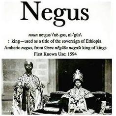 Negus Means King of Kings #Kings #BlackEmpowerment #BlackExcellence #ThinkFlyStayPhrsh www.yngflyphrsh.com