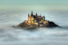Hohenzollern Castle   outside Stuttgart Germany