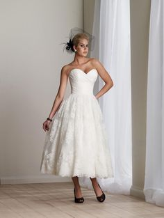 Plus Size Short Wedding Dresses | Cheap Ivory Wedding Dress Short Lace Appliques Tulle Sweetheart on ...