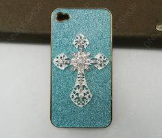 iphone 5 case iphone 4 case Golden  Pearl white  by dnnayding, $21.99