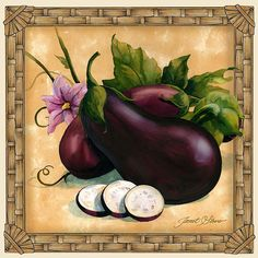 Decorative fruit art, vegetable art, kitchen art by noted painter Janet Stever, represented for licensing exclusively by Porterfield's Fine Art Licensing. Decoupage Vintage, Fruits Images, Pintura Country, Tile Murals, Fruit Print, Decorative Tile, Illustrations, Kitchen Art, Fabric Painting