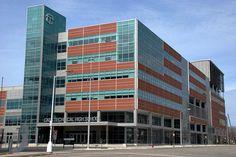 The New Cass Tech. Highschool Downtown Detroit Michigan