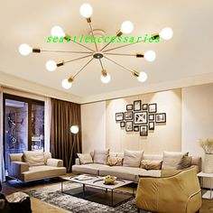 DIY-Modern-Ceiling-Light-Lighting-Fixture-Chandelier-Pendant-Lamp-E27-Led