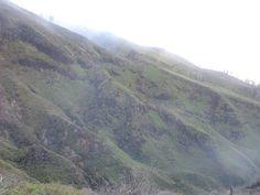 the crater of Ijen volcano