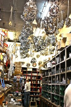 Kitchen, Bakeware and Specialty Food Shopping in Paris: E. Dehillerin, G. Detou and Mora