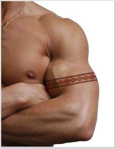 snake-skin-armband-tattoo-for-men.jpg 600×772 pixels