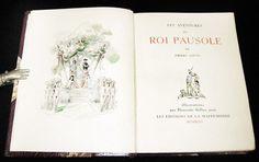 Erotica. Curiosa. Pierre Louys: Les aventures du roi Pausole. 1946 | eBay