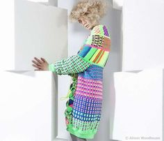 Oversized Psychedelic Knitwear by Alison Woodhouse