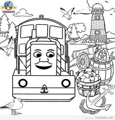 thomas wanted to eat the fruit coloring page