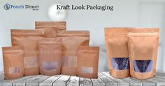 we also offer our line of #kraftlookpouches. We are kraft look pouches suppliers and we implement #cutting edge technology to manufacture a good quality.